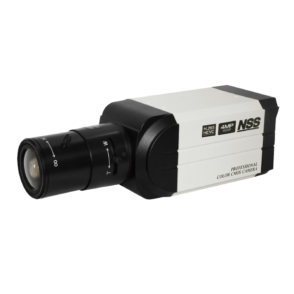 防犯カメラ 400万画素 ボックス型 屋内 PoE ネットワークカメラ 4メガピクセル NSC-SP900-4M