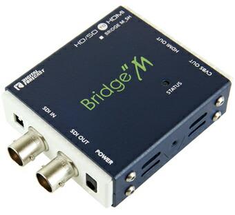 M_SH コンバーター 超小型軽量 マルチフォーマット対応SDI→HDMIコンバーター エーディテクノ ADTECHNO