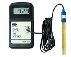 デジタルPHメータ PH-201(ph測定器 ペーハー測定器 水質測定器)