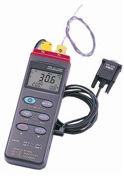 デジタルデータロガー温度計 (2点式) MT-306