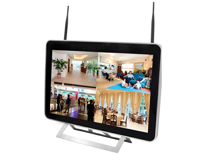 防犯カメラ 監視カメラ 大画面 モニター 21インチ 大型ディスプレイ HDC-EG254LH-21 イーグル NVR