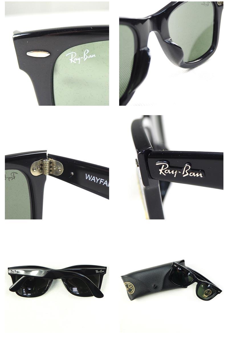Ray-BanレイバンサングラスRB2140Fメンズレディースグラサン偏光偏光レンズウェイファーラーフルフィット901/52サイズ黒ブラックアイウェア眼鏡