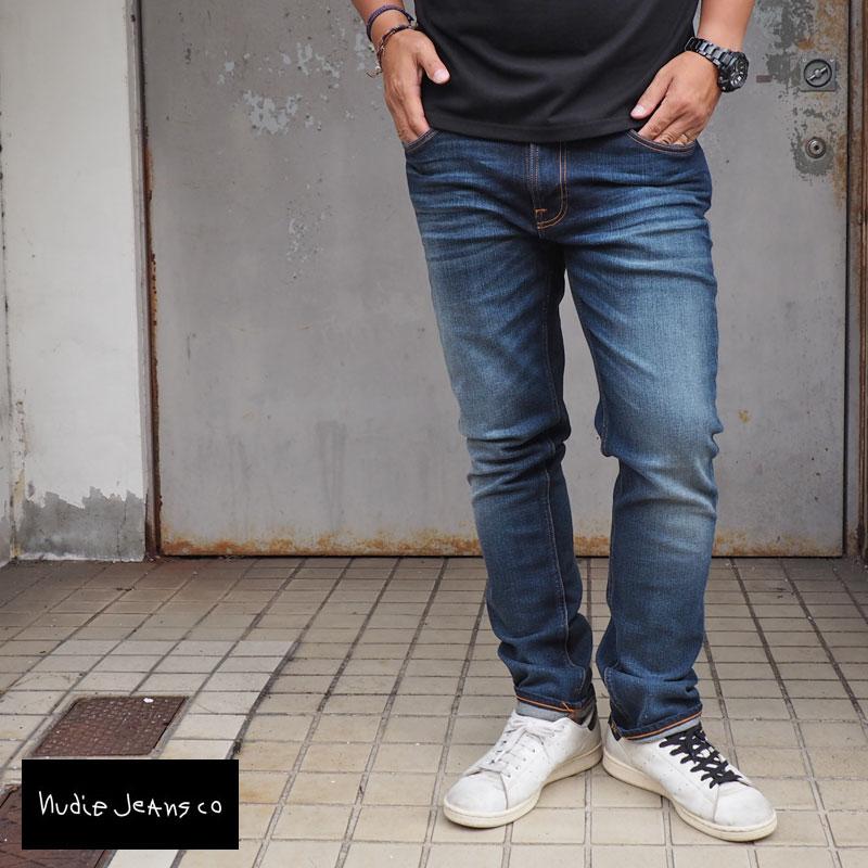 Nudie Jeans ヌーディージーンズ LEAN DEAN リーンディーン デニムパンツ 46161-1074 メンズ ストレッチデニム デニム パンツ ジーンズ スリムテーパード スキニー ストレッチ スリム jeans ヌーディー