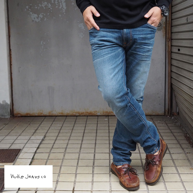 Nudie Jeans ヌーディージーンズ Lean Dean デニムパンツ 46161-1305 メンズ ジーンズ パンツ リーンディーン スリム スキニー デニム ジーンズ denim ヌーディー 色落ち