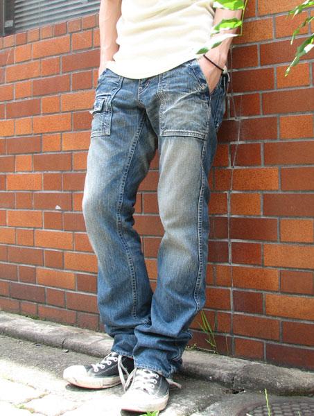 ■ □ shipping & cash on delivery fee free item □ ■ Johnbull John Bull Bush denim pants 1 COLORS (one color development) LOT-11292-16 casual work vintage jeans jeans mens pants Bush Bush denim