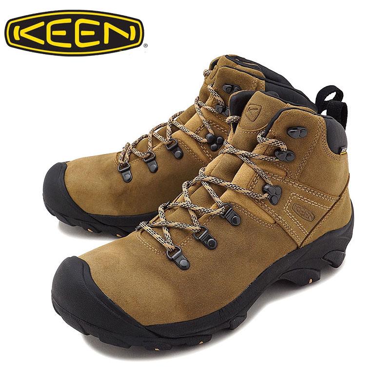 KEEN キーン ブーツ PYRENEES ピレニーズ メンズ 1017348 トレッキング 登山 アウトドア 山 キャンプ トレッキングシューズ マウンテン マウンテンブーツ 登山靴 ハイキング ブーティー スニーカー 正規品 靴 シューズ キャンパー Latte
