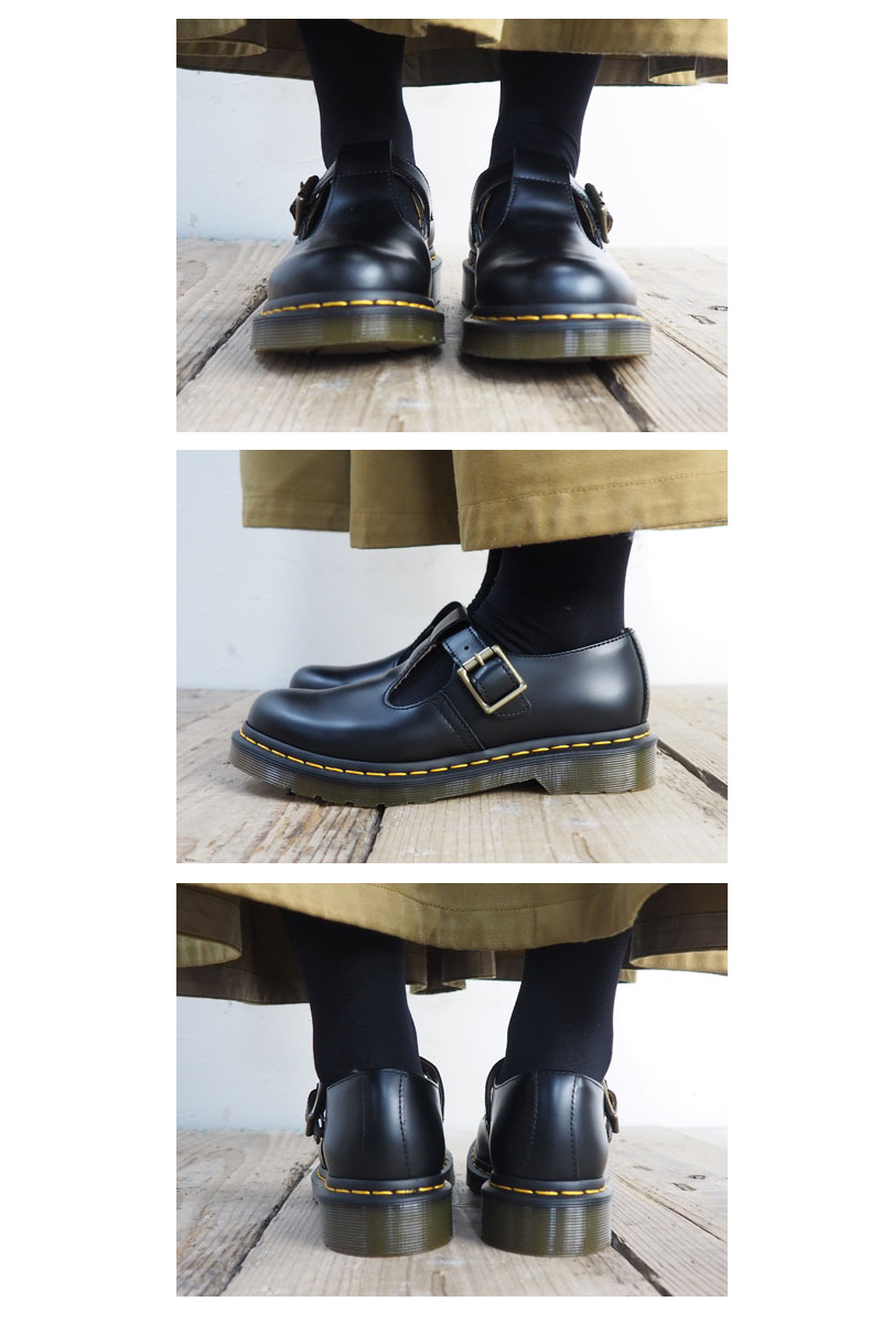 6817fb8b80 ... Dr.Martens doctor Martin POLLEY T-BAR SHOE 14852001 Mary Jane shoes  Mary Jane ...