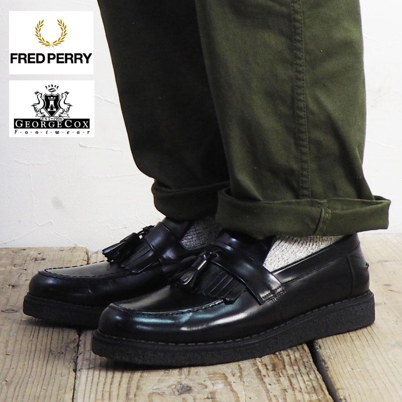 542844dcd0622 FRED PERRY Fred Perry FPXGEORGE COX TASSEL LOA FER B8278 GEORGE COX George  Cox collaborated loafers ...