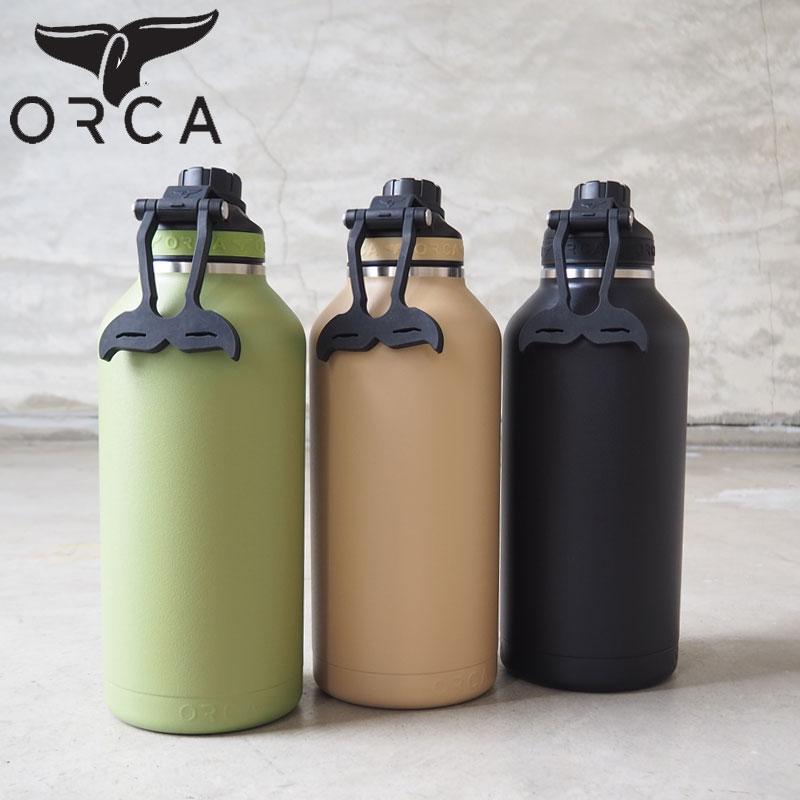 大容量のステンレススチールの2重構造ボディのボトル キャンプに持っていきたいギア SS20Z ORCA オルカ hydra ボトル 水筒 正規品 超激安 Hydra 66oz 1 950ml ORCHYD66 保温 キャンプ シームレス構造 66オンス アウトドア メンズ H8Lオルカボトル キャンパー おしゃれ 2重構造 レディース おすすめ特集 保冷 ステンレススチール