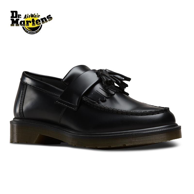Dr.Martens ドクターマーチン ADRIAN SLIP ON タッセルローファー 14573001 ローファー 革靴 本革 シューズ 靴 レザーシューズ エイドリアン マーチン キルトタッセル スリッポン ブラック メンズ レディース 正規品