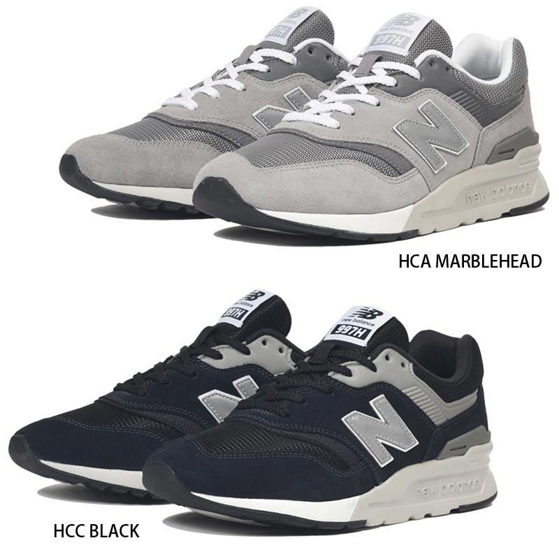 autorisierte Website das beste meistverkauft NEW BALANCE New Balance 997 sneakers CM997H men shoes cm 997h shoes walking  shoes casual stylish black black gray standard sports running 26 27 28 ...