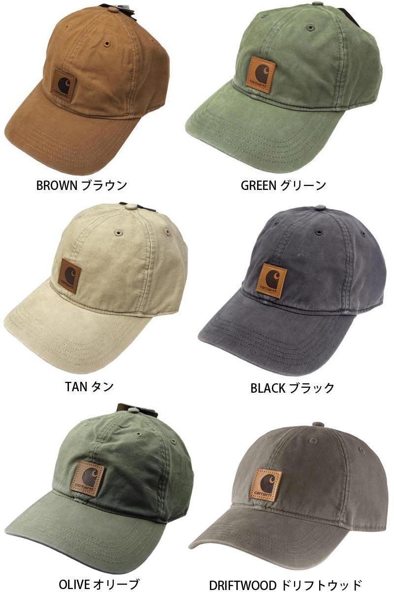 a65e18cccab04 ... Carhartt Carhartt ODESSA CAP CRHTT-100289 Cap Hat men s women s simple  summer uv spring simple