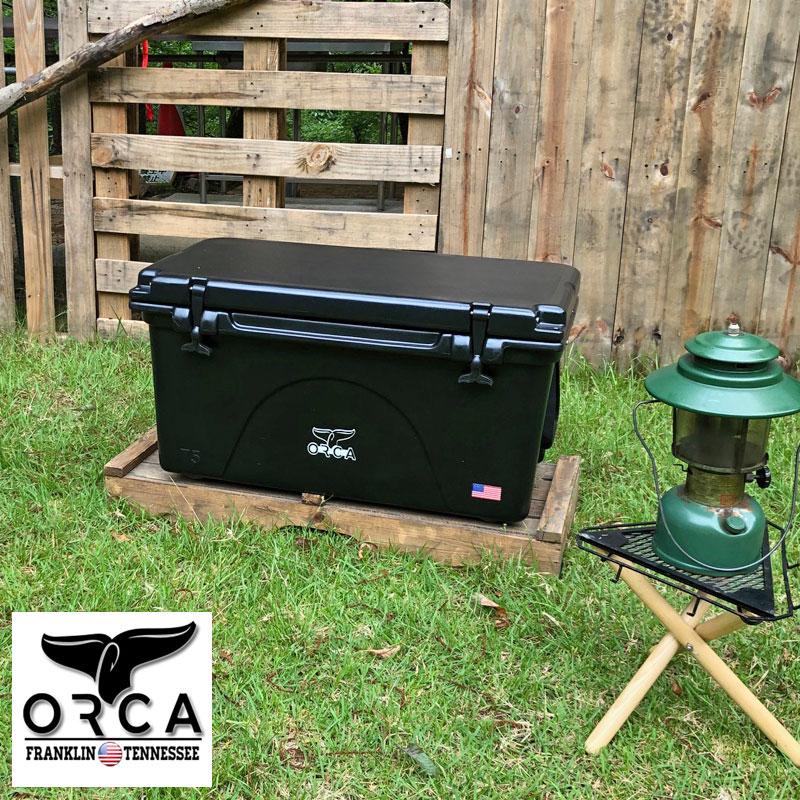 ORCA オルカ クーラーボックス ORCG075 ORCT075クーラーBOX クーラーバッグ 保冷バッグ 椅子 大型 大容量 71L おしゃれ 保冷 釣り アウトドア キャンプ レジャー バーベキュー 海水浴 スポーツ フィッシング