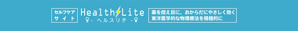 SelfCare『ヘルスリテ』楽天市場店:電位治療器・温熱指圧代用器のヘルスリテ
