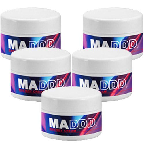 『MADDD 5個セット』シトルリン アルギニン 増大クリーム ボディクリーム 活力 ボディクリーム コンプレックス お悩み 高品質 増大 お買い得 ペニスクリーム