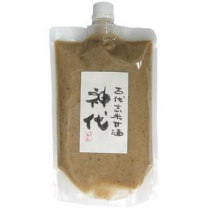 農薬不使用の玄米と3種類の古代米で作った甘酒 ノンアルコール 即納最大半額 ノンシュガーでダイエット食としても人気です 賞味期限2021年11月13日 500g 新作通販 神代 古代玄米甘酒 和のヨーグルト