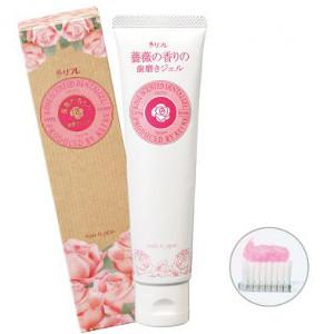 【クーポン獲得】【4980円以上送料無料】薔薇の香りの歯磨きジェル 10個セット
