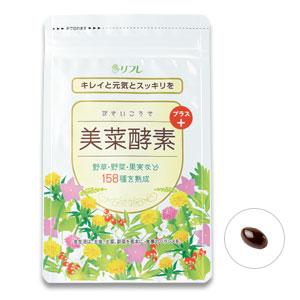 【クーポン獲得】【4980円以上送料無料】美菜酵素+(びさいこうそプラス) 10個セット