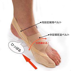 【クーポン獲得】【4980円以上送料無料】靴も履けるんデス Mサイズ 3個セット