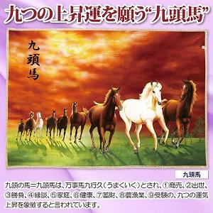 【クーポン獲得】【4980円以上送料無料】開運毛布 九頭馬 3個セット