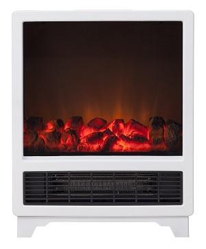 【クーポン獲得】【4980円以上送料無料】暖炉型ヒーター ノスタルジア ホワイト Nostalgie CHT-1539WH 2個セット