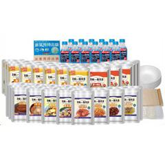 【クーポン獲得】【4980円以上送料無料】美味しい防災食ファミリーセット(保存水有)FS35