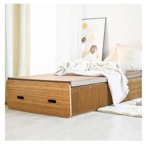 送料無料 【クーポン獲得】【プレゼント付】Paper Bed ペーパーベッド