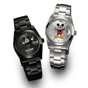 【クーポン獲得】【4980円以上送料無料】ディズニー世界限定腕時計ギミックアイミッキーブラック 3個セット