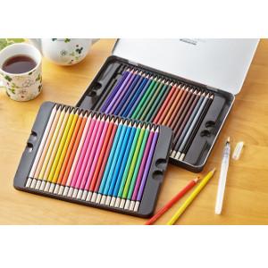 【クーポン獲得】【4980円以上送料無料】水彩色えんぴつ48色 水彩色鉛筆 48色 10個セット