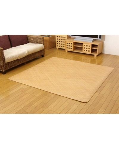 インドネシア産 籐あじろ織りカーペット 宝麗 286×382cm - イケヒココーポレーション