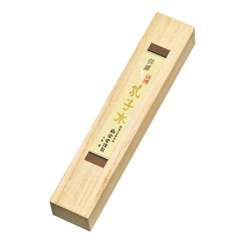 伽羅 特撰孔子木 中寸1把入上桐箱 品番901 - 梅栄堂