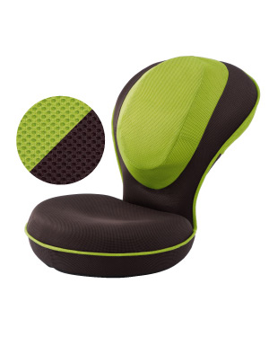 背筋がGUUUN 美姿勢座椅子 グリーン - ドリーム