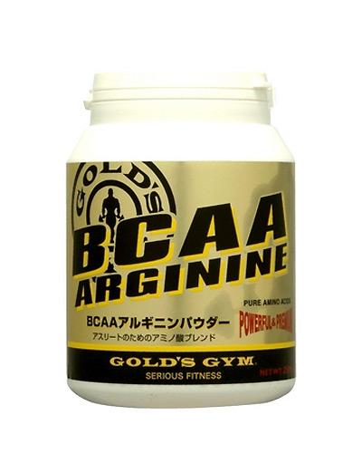 ゴールドジム BCAAアルギニンパウダー 400g - THINKフィットネス [GOLD'SGYM][アミノ酸]