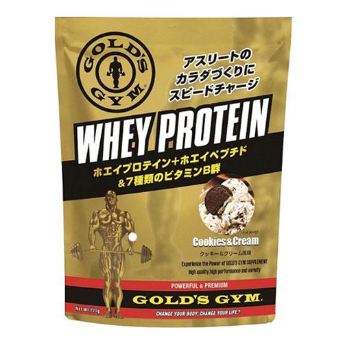 - ホエイプロテイン THINKフィットネス クッキー&クリーム風味 ゴールドジム 1500g