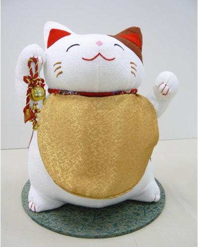 福猫季節のお飾り(鈴付)・京都ーリュウコドウ - リュウコドウ