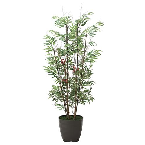 光の楽園(2020年版) 黒竹&南天 品番:2010A280 高さ:160cm - アートクリエイション [光触媒][観葉植物]