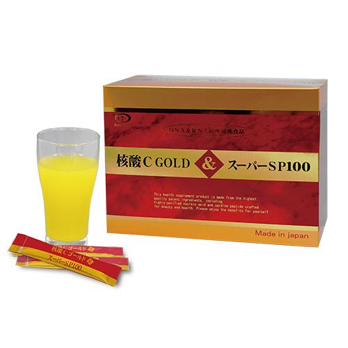 核酸Cゴールド&スーパーSP100 60包- インターテクノ