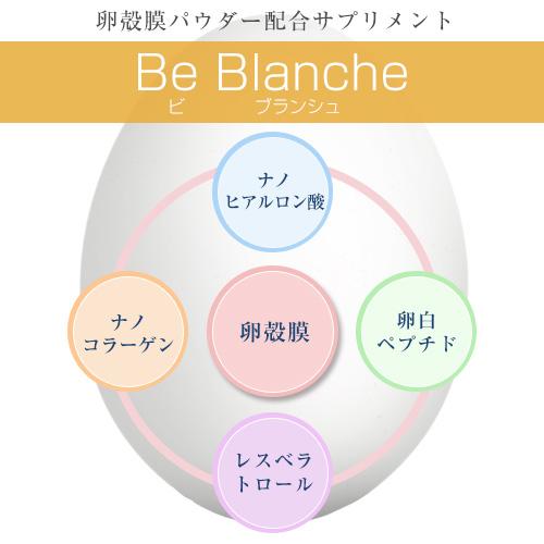 是布兰奇 (vibransch) 150 × 280 毫克胶囊 [10 点] 和 [卵壳膜和酸纳米加仑 / 纳米胶原]