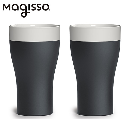 マギッソ magisso Cool-ID タンブラー 2個セット ホワイトライン - アペックス