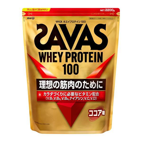 ザバス(SAVAS) ホエイプロテイン100 ココア 2520g - 明治