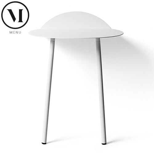 メニュー Menu ヤーウォールテーブル ロー ホワイト - アペックス