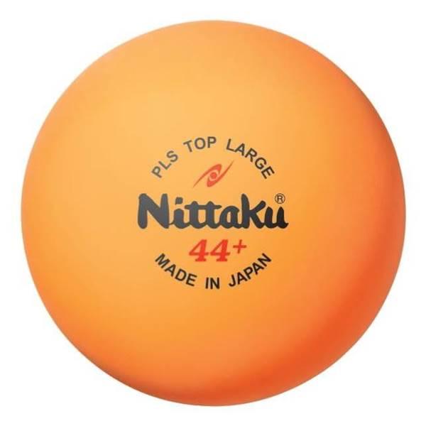 ニッタク 卓球 ボール ラージ44ミリ 練習球 プラトップラージボール 10ダース - ニッタク