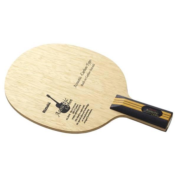 ニッタク 卓球 ラケット ペンホルダー 攻撃用 アコースティックカーボン C - ニッタク