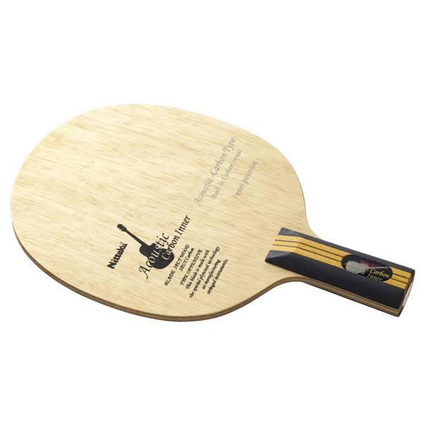 ニッタク 卓球 ラケット ペンホルダー 攻撃用 アコースティックカーボンインナー C - ニッタク