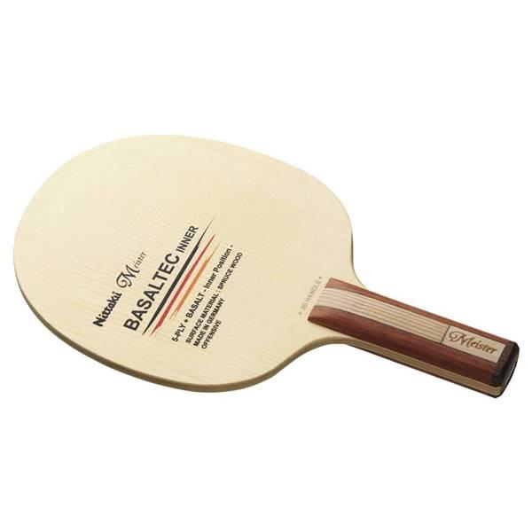 ニッタク 卓球 ラケット シェークハンド 攻撃用 バサルテックインナー3D ST - ニッタク