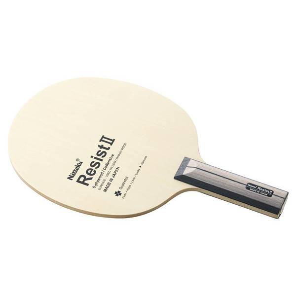ニッタク 卓球 ラケット シェークハンド 守備用 レジスト2 FL - ニッタク