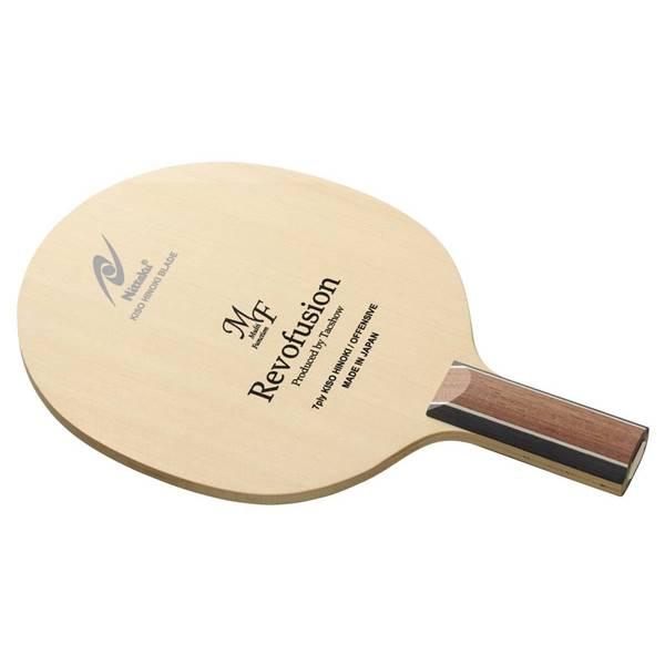 ニッタク 卓球 ラケット ペンホルダー 攻撃用 レボフュージョン MF C - ニッタク