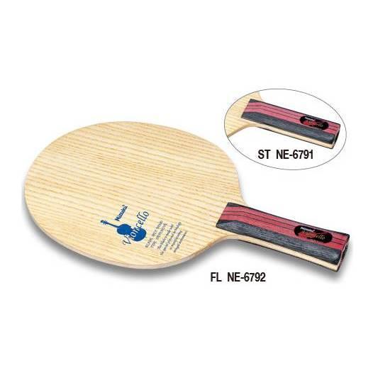 ニッタク 卓球 ラケット シェークハンド 守備用 ビオンセロ FL - ニッタク