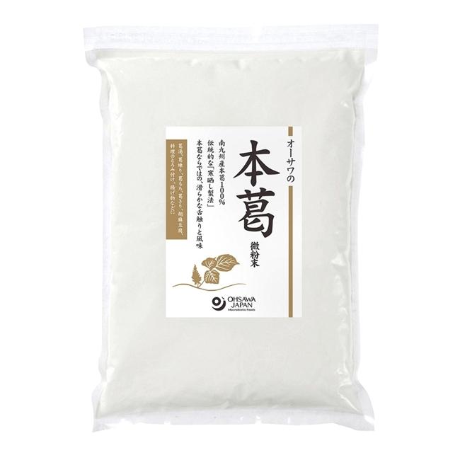 オーサワの本葛 微粉末 1kg - オーサワジャパン