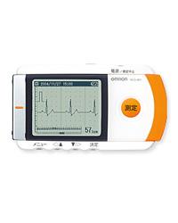 携帯型心電計 HCG-801 - オムロンヘルスケア
